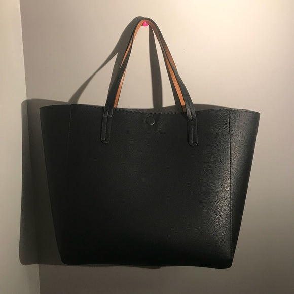 a747b56970 NWOT Target reversible faux leather tote
